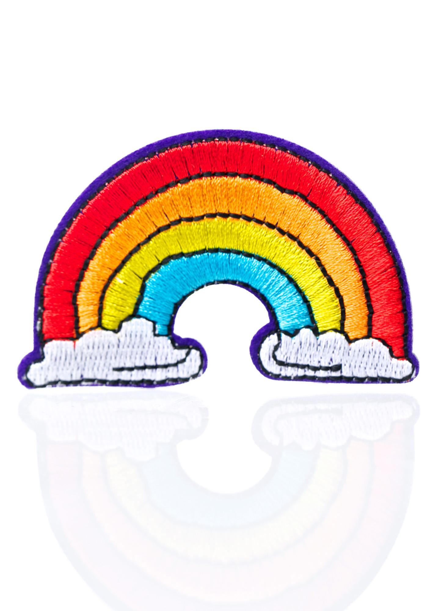 Love And Madness Rainbow Patch