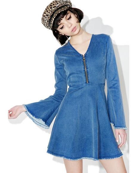 Alexa Denim Dress