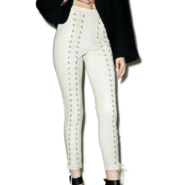 Line & Dot Delilah Lace Up Leggings