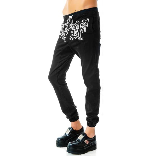 UNIF Canvas Metal Sweats