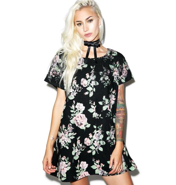 Wildfox Couture Vintage Flannel Roses Vista Swing Dress
