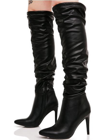 Tracy Knee High Boots