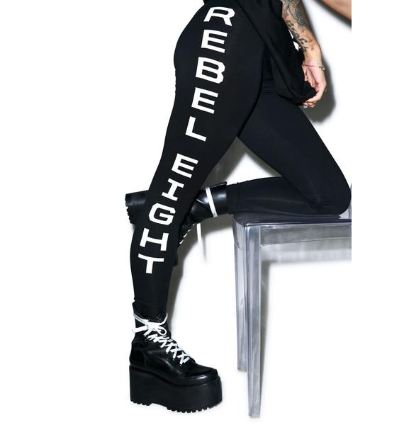 Rebel8 Until Death Leggings