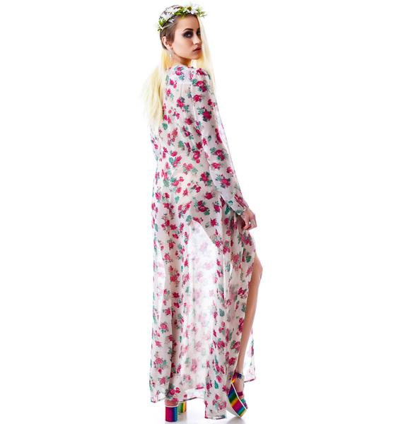 Secret Garden Floral Maxi Dress