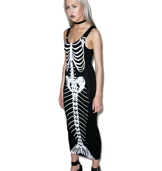 Iron Fist Bone Deep Maxi Dress