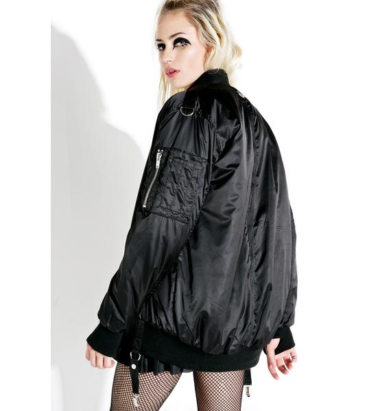 Current Mood Last Hope Bomber Jacket