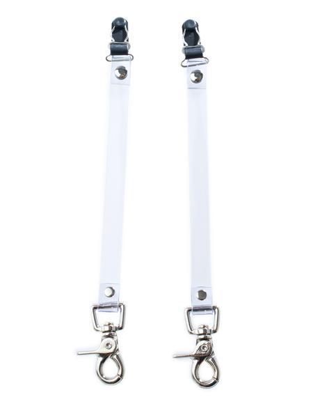 Clear Control Leg Garter Clips