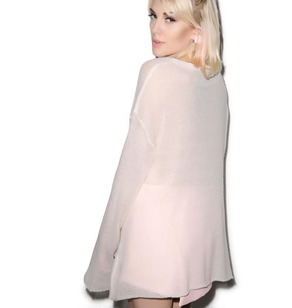 Wildfox Couture Pink Pet Roadie Sweater