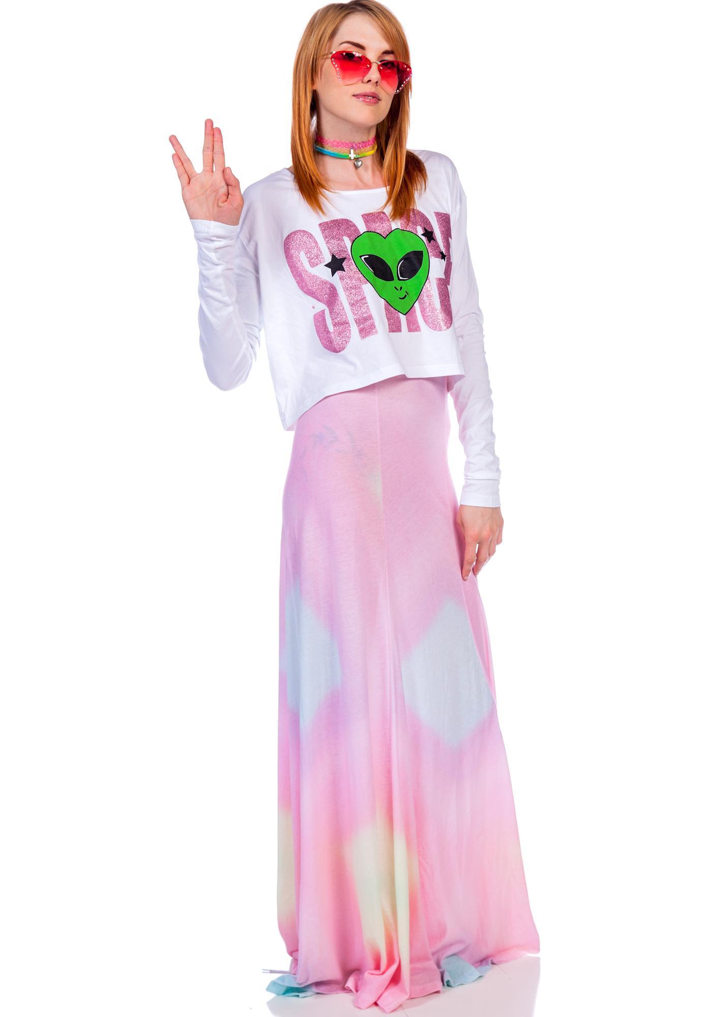 Wildfox Couture Rainbow Brite Verona Skirt