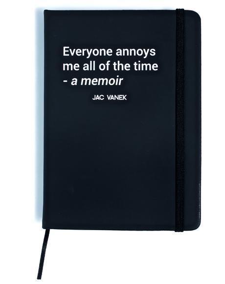 Memoir Hardcover Notebook