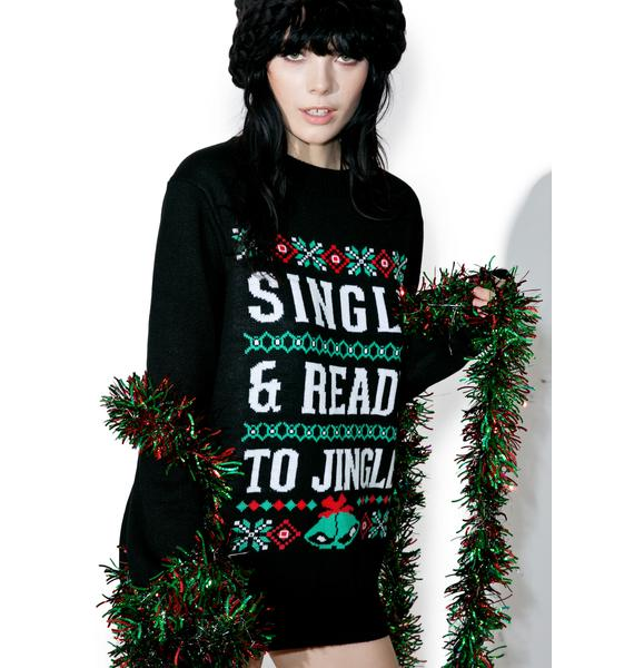 Tipsy Elves Ready To Jingle Sweater