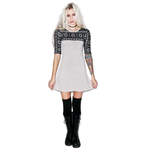 For Love & Lemons Ice Queen Mini Dress