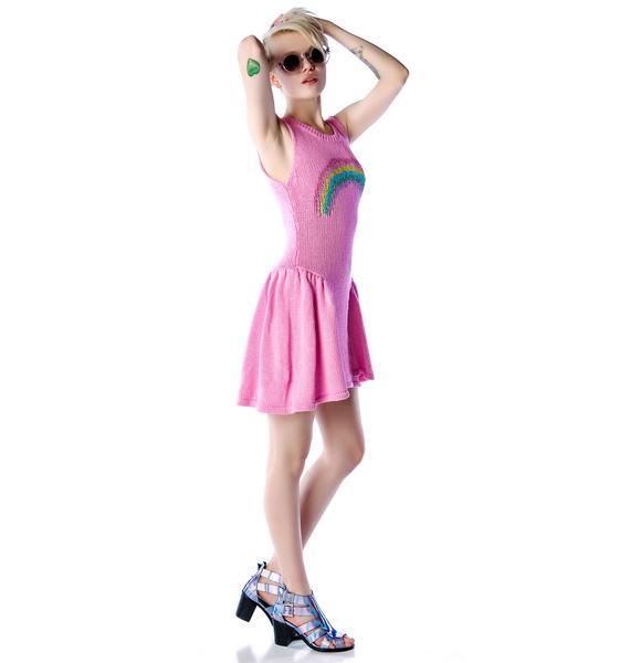 Wildfox Couture Little Rainbow Liv Dress