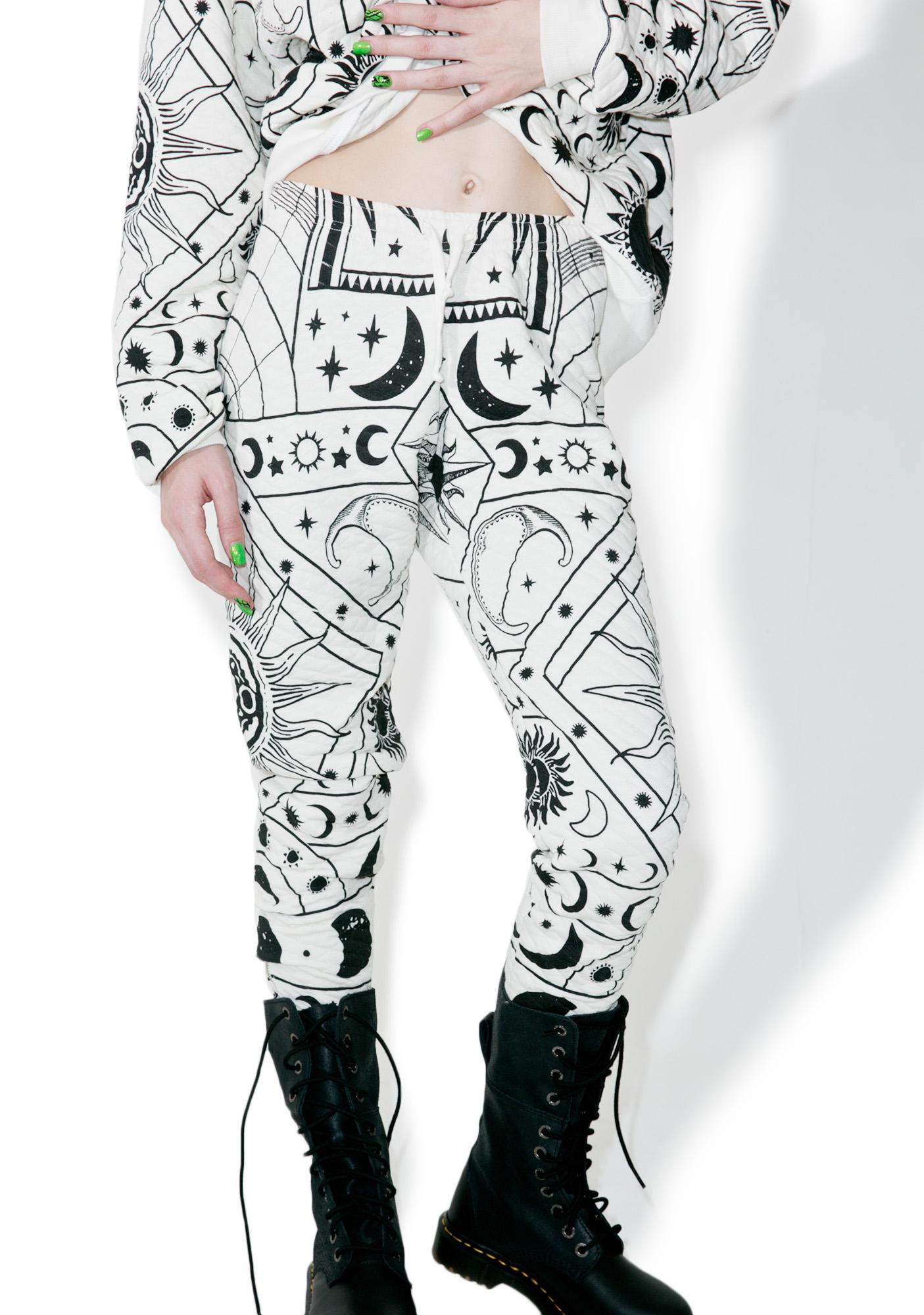 Wildfox Couture Moon Astrology Fame Joggers
