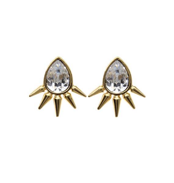 Anita K Royal Punk Earrings