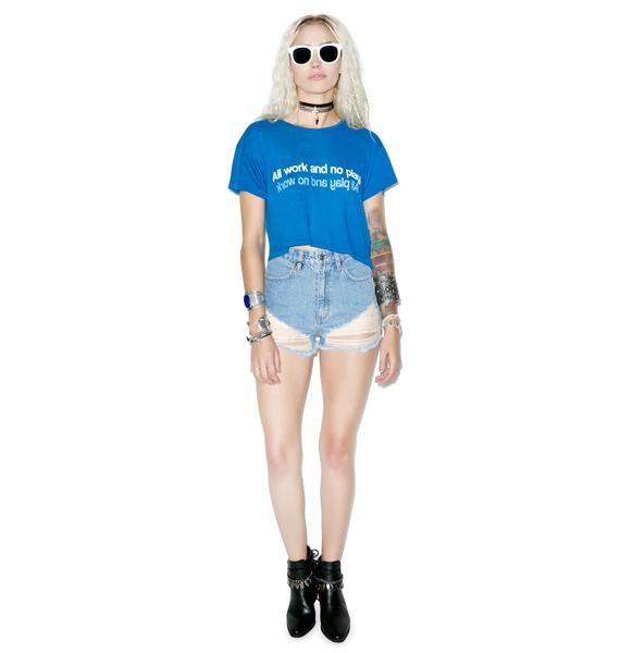 Wildfox Couture All & None Middle Tee