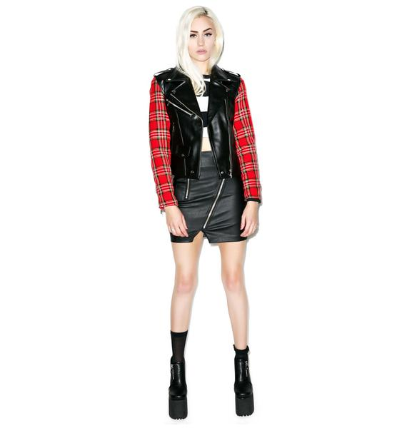 Killstar Vegan Tartan Jacket