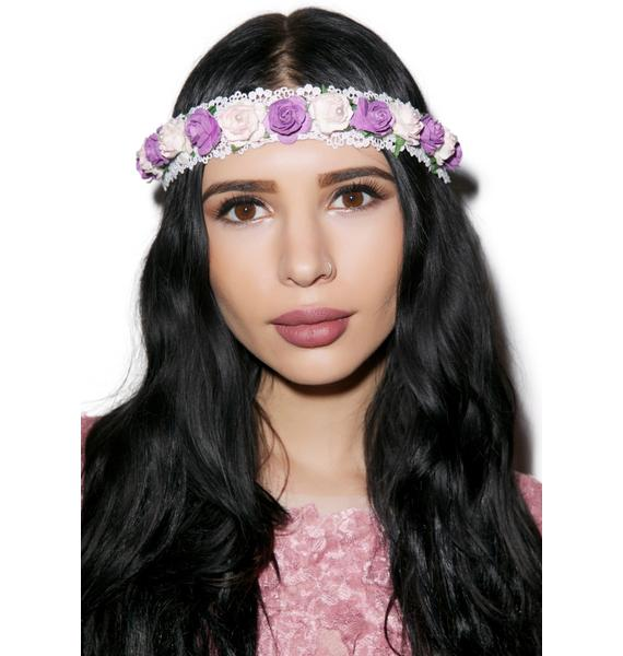 Smell Like Roses Headband