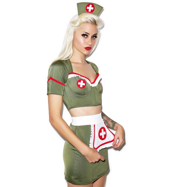 Go Army Nurse Costume