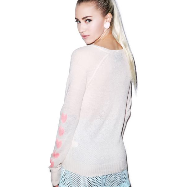 Wildfox Couture Tokyo Love Party V-Neck