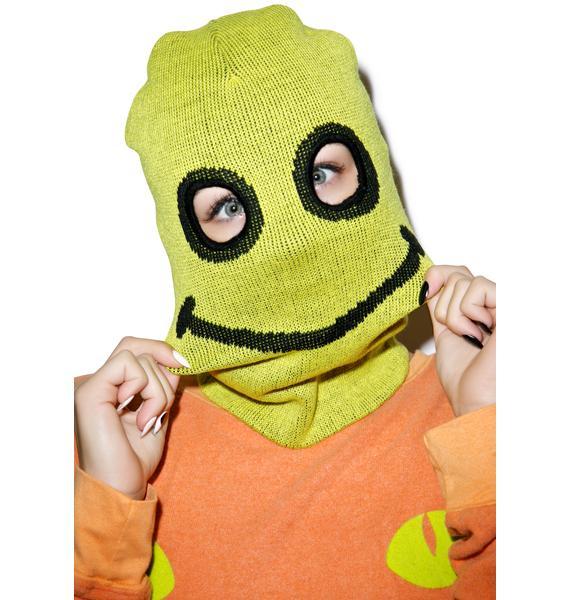 Happy Daze Knit Mask