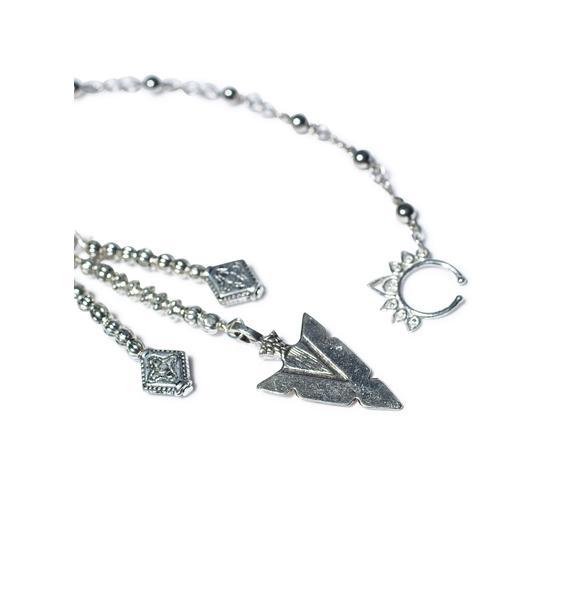 Vidakush Tribal Arrow Nose Chain