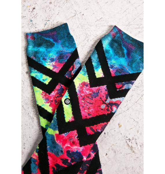 Stance Alien Acid Socks
