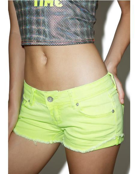 Neon Hyperdrive Shorts