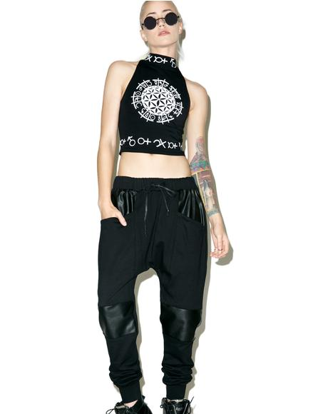Resurrection French Terry Drop Crotch Pants