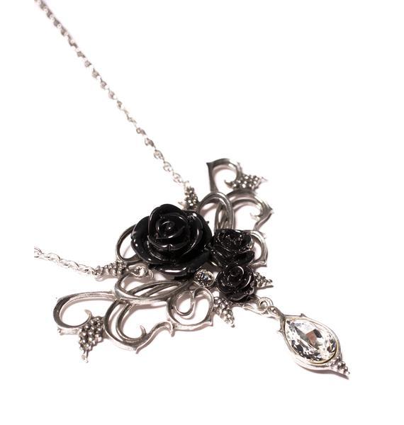 Bacchanal Rose Necklace