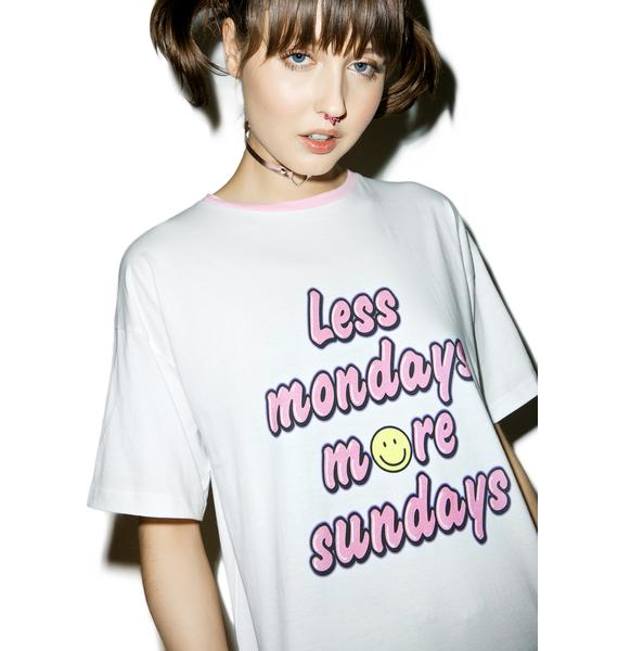 Sugarpills Less Mondays T-Shirt