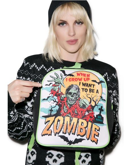 I Wanna Be A Zombie Backpack