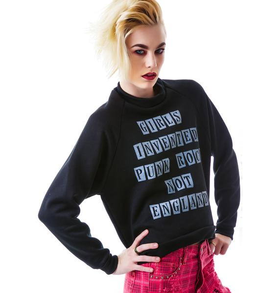 United Couture England Invented Sweatshirt