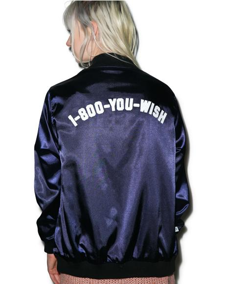 You Wish Reversible Satin Jacket