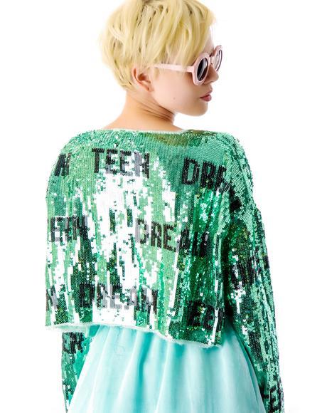 Teen Dream Billy Crop Sweater