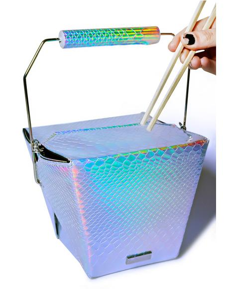 Holographic Take Out Bag