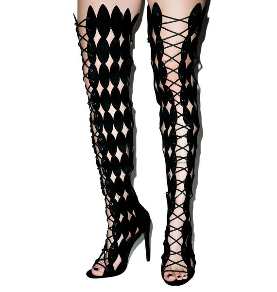 Harley Lace Up Boots