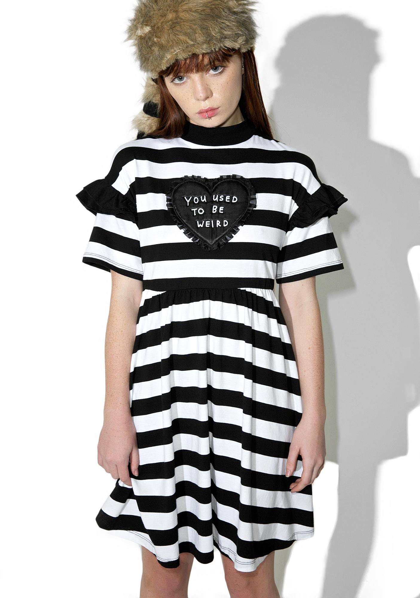 Lazy Oaf Used To Be Weird Dress