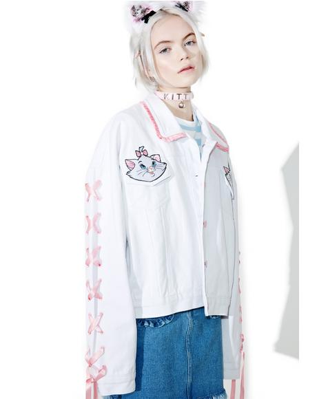 X Disney Aristocats Denim Jacket
