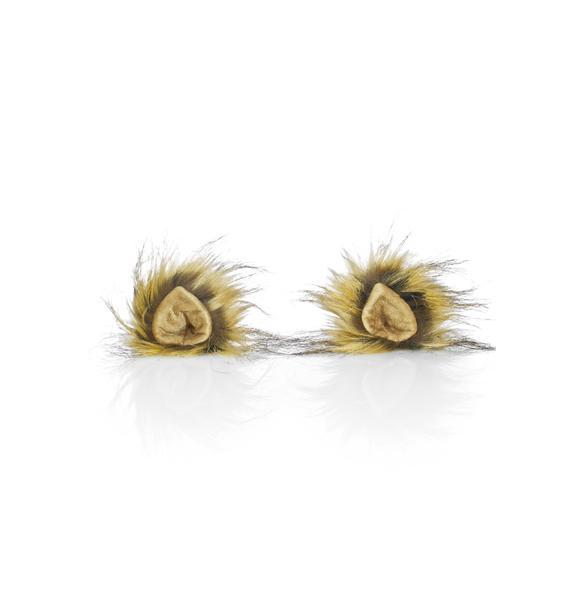 KritterKlips Blond Wildcat Clip In Ears
