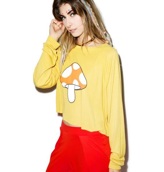 Wildfox Couture Fairyland Monte Crop Sweater