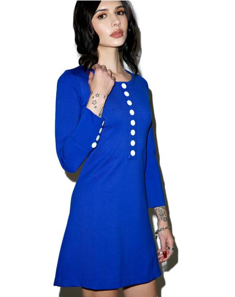 Sugarhigh Long-Sleeve Mini Dress