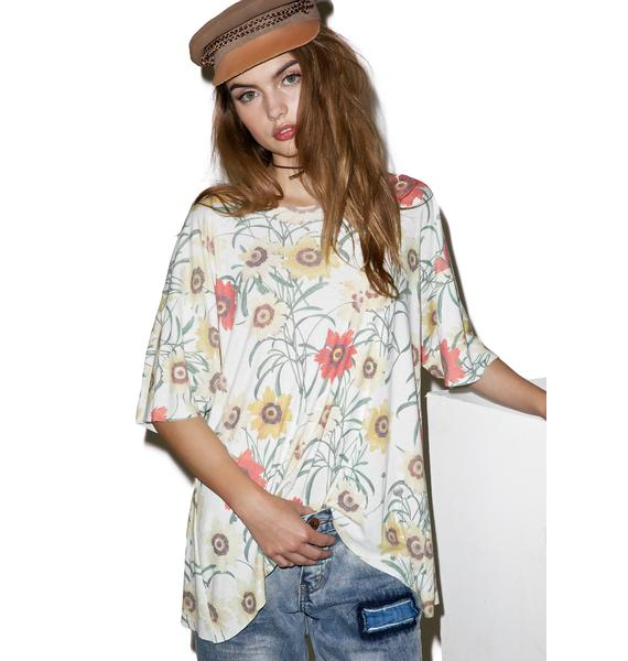 Wildfox Couture Wild Daisy Overland Tunic