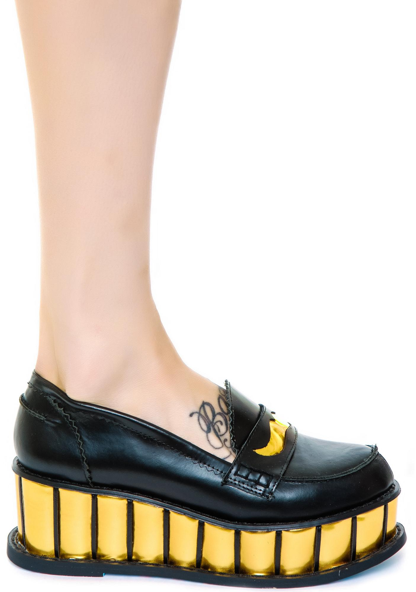 Irregular Choice Inky Smudge Creepers