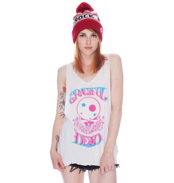 Chaser Grateful Dead Muscle Boxy Tank