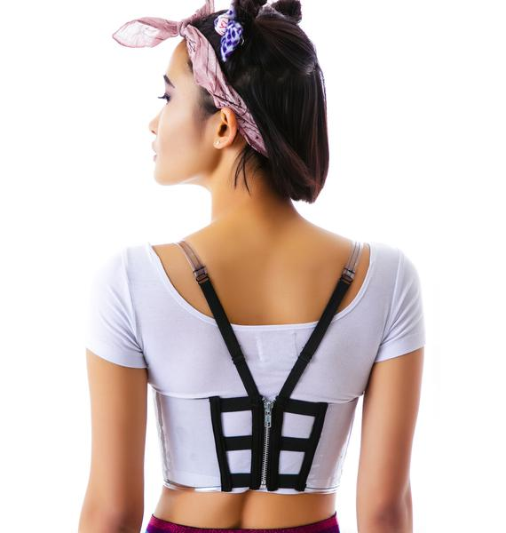 Chromat Conical City Bustier
