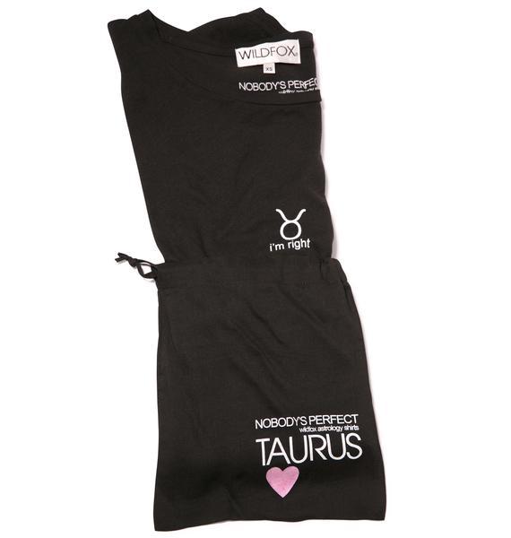 Wildfox Couture Taurus Astrology Boy Tee