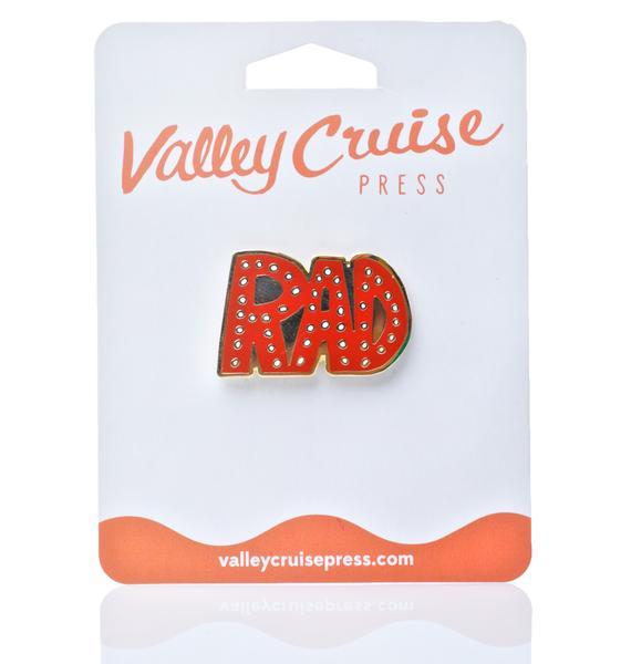Valley Cruise Press So Rad Enamel Pin