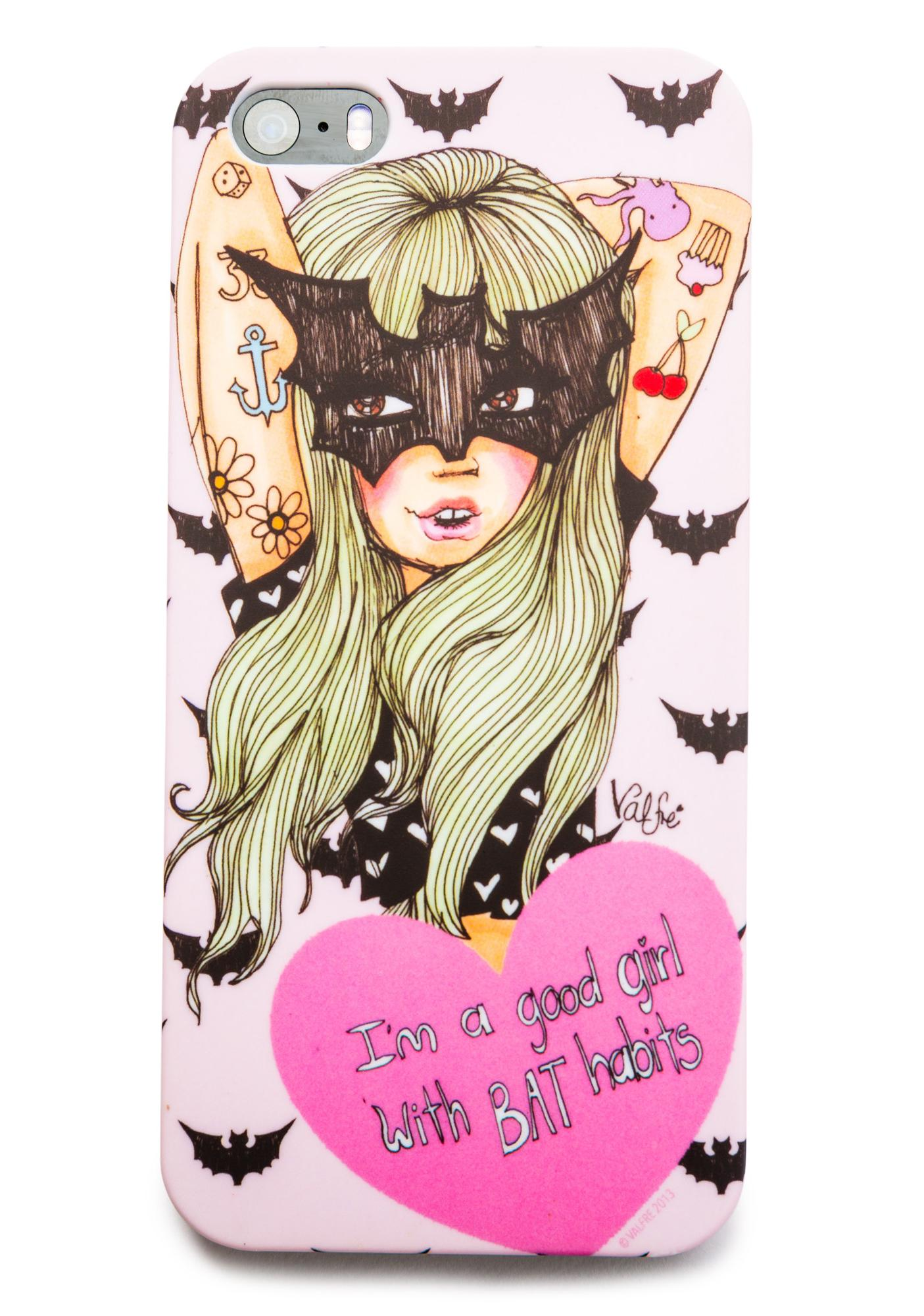 Valfré Bat Habits iPhone 5 Case