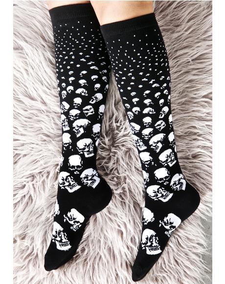 Scully Long Socks